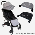 Baby Carriage Feet Extend Footboard For Babyzen Yoyo+ Yoya BabyTime Stroller Extend Footrest Pedal Baby Stroller Accessories