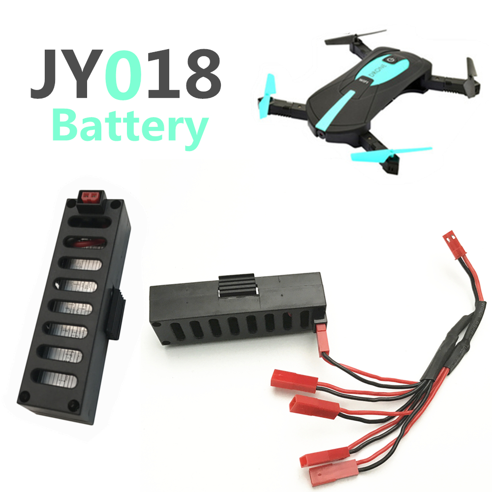 Original for Mini Drone JY018 BATTERY RC Helicopter Accessories Battery For GW018 EACHINE 3.7V 600mah Battery vs 500mah original eachine e56 jjrc h47 rc