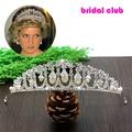 Fashion Pearl Princess Wedding Tiaras Crowns Luxury Bridal Crown Waterdrop Headdress Wedding Hair Accessories Hair Jewelry