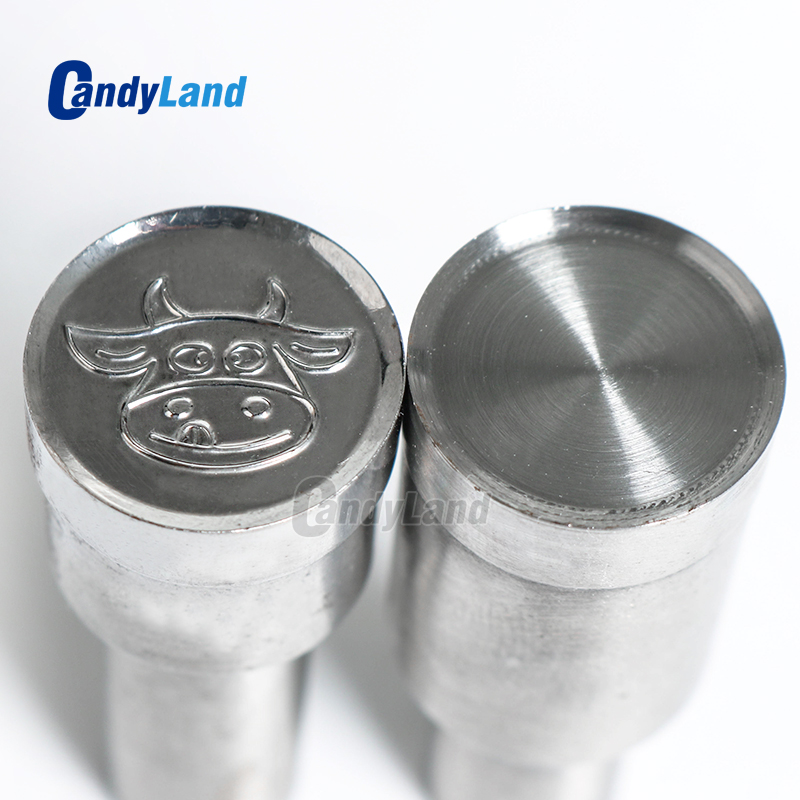 CandyLand Diamond Milk Tablet Die 3D Punch Press Mold Candy Punching Die Custom Logo Calcium Tablet