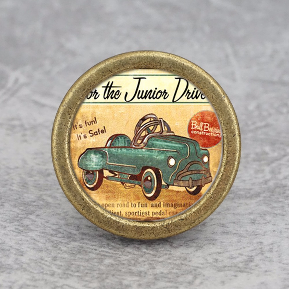 Vintage Car Cupboard Knobs / Handmade Drawer Knobs Dresser Pulls Handles / Kitchen Cabinet Knobs Furniture Hardware стоимость