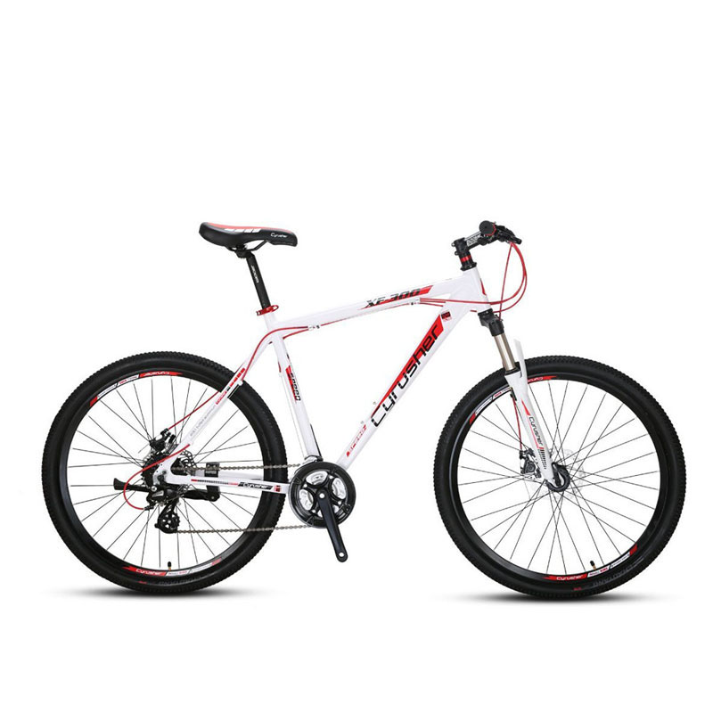 Cyrusher XF300 Mountain Bicycle 27.5x19 Lightweight Aluminum Frame 24 Speed Mans Mountain Bike Mechanical Disc Brake Bicicleta