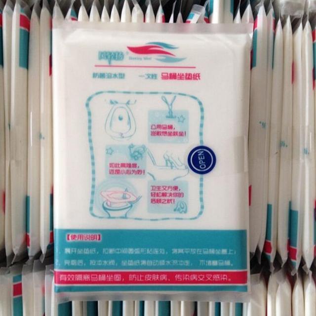 10 pz Coprisedili Carta Igienica Biodegradabile Hot Viaggi Igienici Usa E Getta