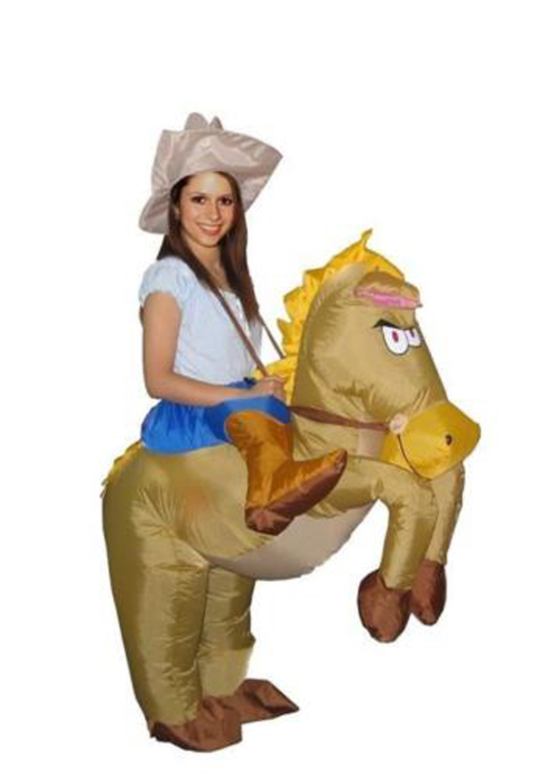 popular inflatable horse costumes
