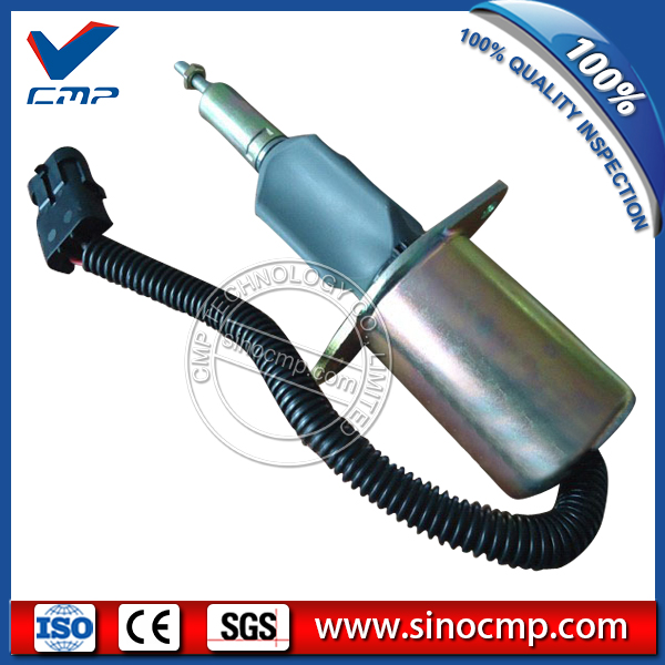 24v SA-4889-24 Excavator fuel stop shut down solenoid valve 393901924v SA-4889-24 Excavator fuel stop shut down solenoid valve 3939019