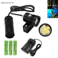 LED Diving Tactical Flashlight Aluminum alloy Underwater 150m Waterproof Linterna Highlight 10000lm 6x L2 LED Flashlight Torch