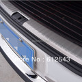 For VW Volkswagen Touran 2009 2010 2011 2012 2013  car styling rear trunk bumper protector decoration sill strips guard
