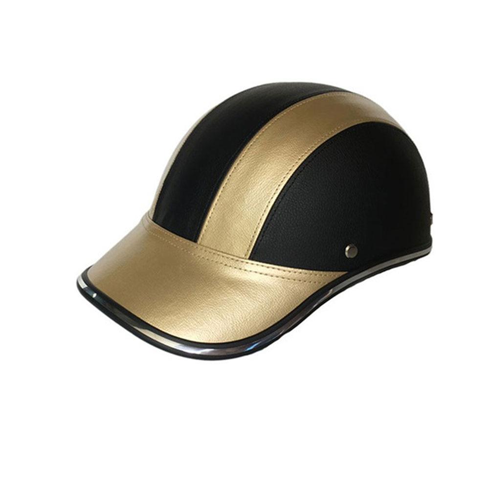 Шлем для верховой езды бейсболка ABS+ PU 4 цвета 30-46 см Craniacea шляпы гоночная Защитная шляпа антивибрационный Crashworthy Motion шлем - Цвет: Golden
