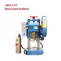 Новый JB04-0.5T (две ручные кнопки) настольный перфоратор Электрический пресс перфоратор Электрический ing машина 220 V/380 V 250 W 0,5 T (260x260mm)