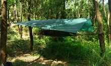 Nylon Silicon coated sun canopy