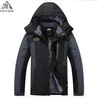 King Size 5XL 6XL 7XL 8XL 9XL Warm Winter Jacket Men Fleece Thicken Waterproof Cotton Down