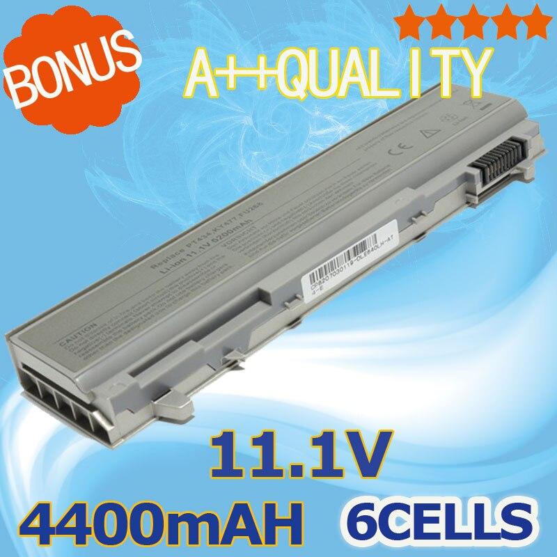 4400mAh Laptop Battery For Dell Latitude E6400 E6410 E6500 E6510 Precision M2400 M4400 M4500 M6400 M6500 1M215 312-0215