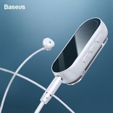 Baseus Bluetooth 5.0 Receiver For 3.5mm Jack Earphone Headphone AUX Wireless Adapter Audio Music Transmitter