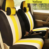 Universal only front car seat cover for SEAT LEON Ibiza Cordoba Toledo Marbella Terra RONDA car accessories car stickers 3D