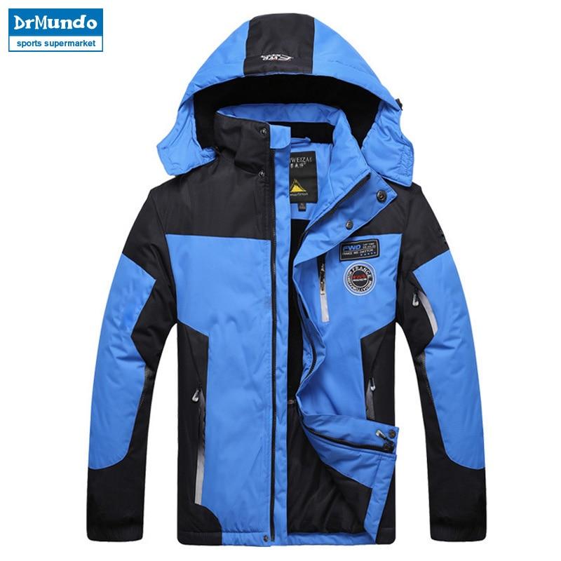 Ski Jacket Men Waterproof Winter Snow Jacket Thermal Coat For Outdoor Mountain Skiing Snowboard Jacket Brand
