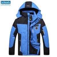 2016 New Ski Jacket Men Waterproof Winter Snow Jacket Thermal Coat For Outdoor Mountain Skiing Snowboard