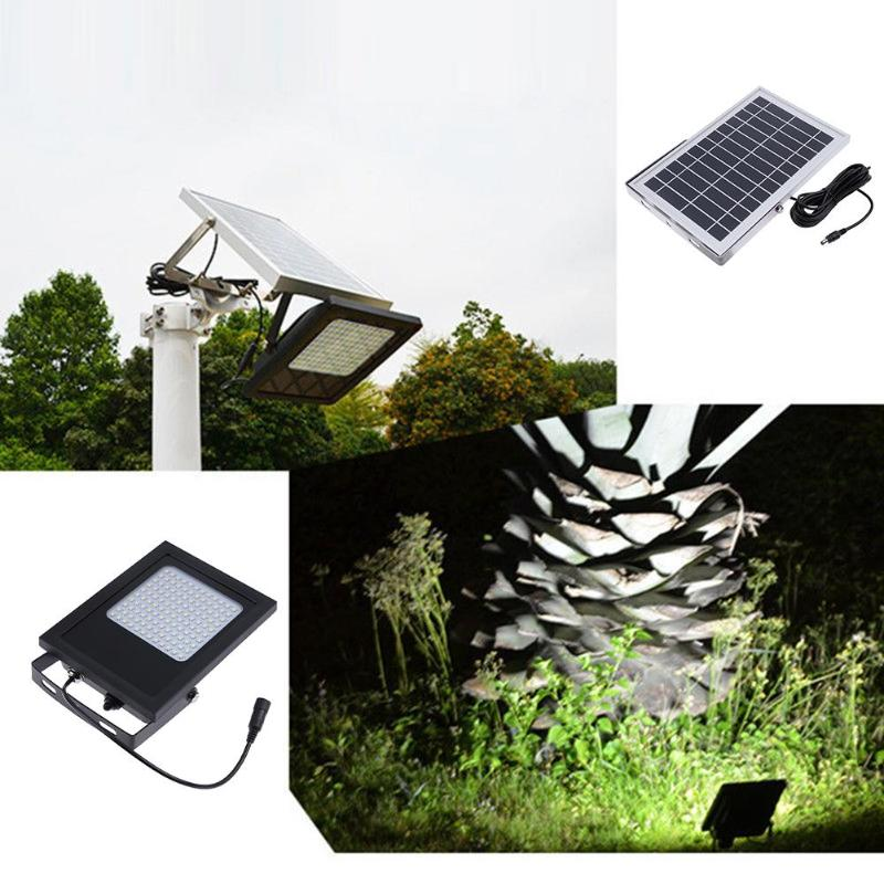 120LEDs Solar Power LED Light Sensor Flood Spot Garden Outdoor Home Security Lamp Wall Waterproof Panel