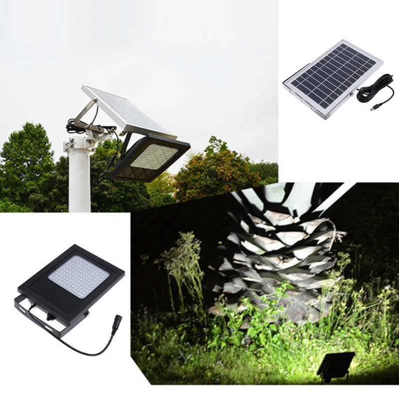 120 Led ソーラーパワー Led 光センサ洪水スポット庭屋外のホームセキュリティランプ壁防水パネルランプストリート LED ライト  グループ上の ライト & 照明 からの ソーラーライト の中 1