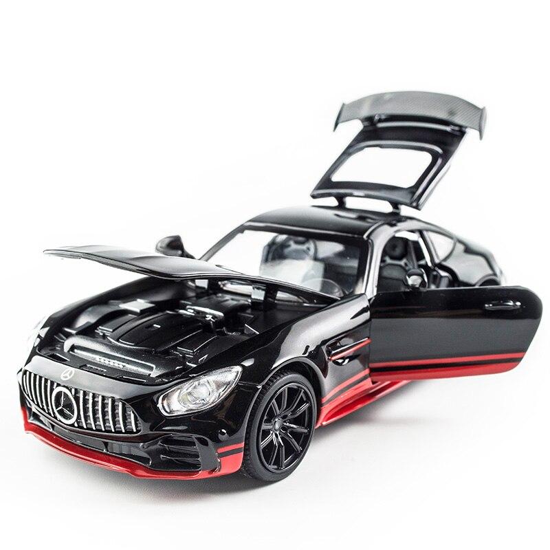 1:32 LE AMG GT Roadste Simulation Modell Spielzeug Auto Legierung Ziehen Zurück Kinder Spielzeug Echte Lizenz Sammlung Geschenk Off- straße Fahrzeug