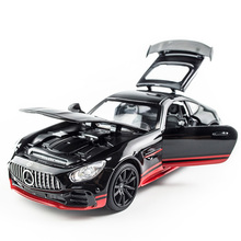 1:32 LE AMG GT Roadste Simulation Model Toy Car Alloy Pull Back Children Toys Genuine License Collection Gift Off-Road Vehicle