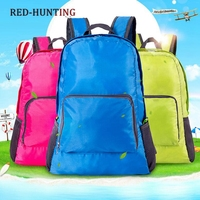 Free Shipping Lightweight Water Resistant Travel Backpack/foldable & Packable Hiking Daypack