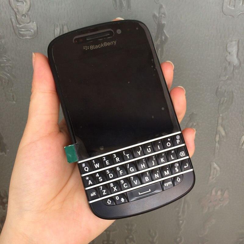 Originale BlackBerry Q10 Del Telefono Mobile Sbloccato 8MP 3G WIFI Bluetooth Ristrutturato Smartphone Tastiera Inglese-in Telefoni cellulari e smartphone da Cellulari e telecomunicazioni su  Gruppo 1