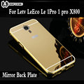 Чехол Mobfone Frame для Letv LeEco 1 pro X800, зеркальная задняя крышка для Letv LeEco Le 1 pro X800, металлическая рамка, оболочка, чехол - фото
