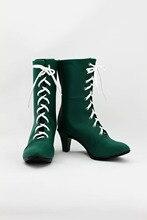 Довольно Солдат Сейлор Мун Сейлор Юпитер косплей обувь аниме женские сапоги