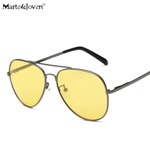 8d34372c6860b  Marte   Joven  Clássico Homens Noite óculos de Condução Anti-Reflexo óculos  de