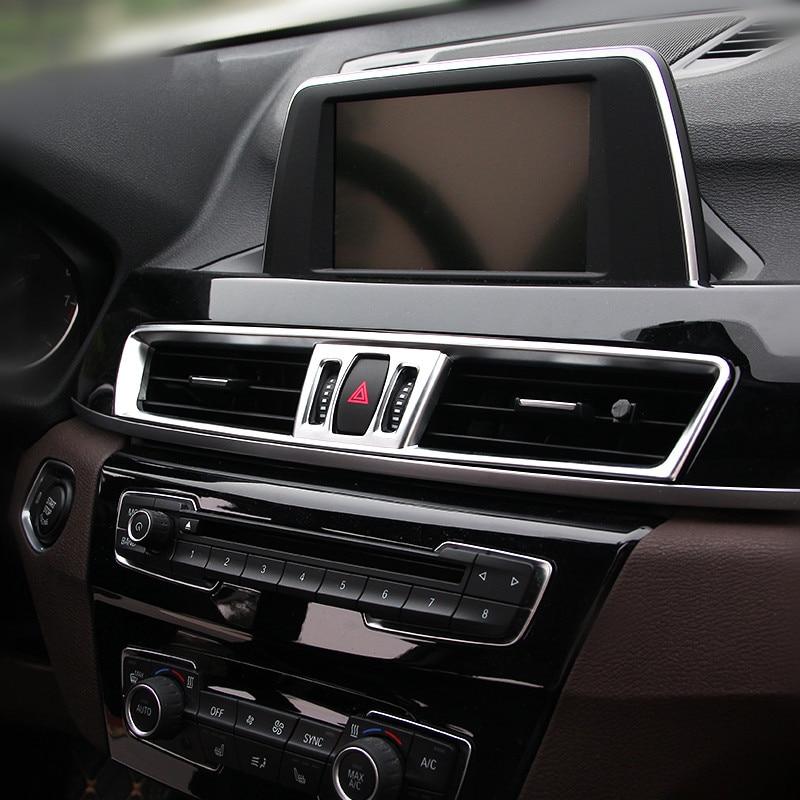 2015 Bmw X1 Interior: Carbon Fiber Style Car Center Console Air Conditioning