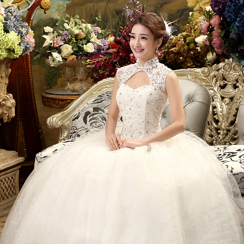 Lamya 2018 New Style Custom Make Lace Wedding Dress Sweet Ball ...