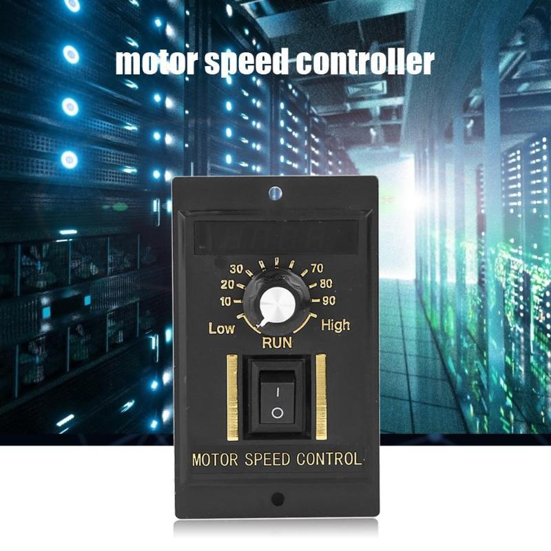 AC220V 300//400//500W AC Motor Speed Controller Electric Motor Speed Regulator New