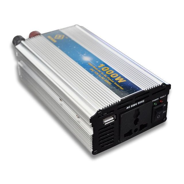 For 220V 1000W DC to AC Modified Sine Wave USB Mobile Car Power Inverter [CAR16]