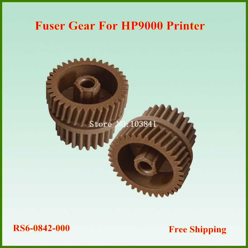 цены  30pcs  retail  36T/24T  RS6-0842-000 Compatible Fuser Gear for HP LaserJet 9000 9040 9050 Printer Gears