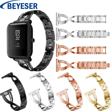 Watch Stap For Xiaomi Huami Amazfit Bip Bit Amazfit Bit Watchband Bracelet For Xiaomi Huami Amazfit Bip Youth Rhinestone Band xiaomi amazfit bip white