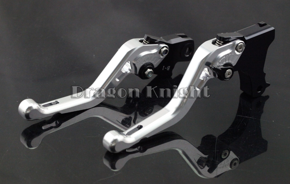 Motocycle AccessoriesFor BMW F650GS F700GS F800GS Short Brake Clutch Levers Silver adjustable billet short folding brake clutch levers for bmw f 650 700 800 gs f650gs f700gs f850gs 08 15 09 10 f 800 r s st 06 15