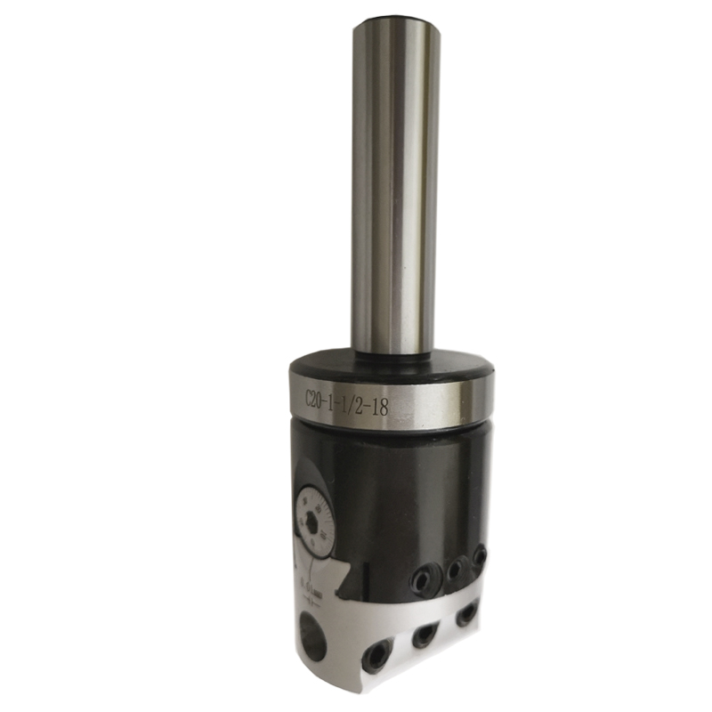 1set 20mm adapter shank draw bar C20 1 1 2 18UNF 1PCS F1 12 50MM 2 inch boring head boring tool for CNC machine boring in Tool Holder from Tools