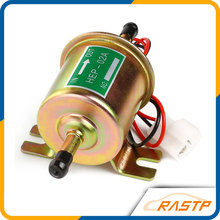 Free Shipping Universal Petrol Gasoline Diesel 12V Electric Fuel Pump HEP-02A Low Pressure For Most Car Motorcycle  LS-FP009Gold