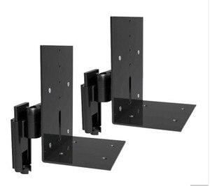 Image 5 - BL S01 di Alluminio Montaggio A Parete Speaker Supporto Tilt Swivel Audio Altoparlante di Montaggio Staffa di montaggio Rapido Facilità di Installazione Supporto Rack