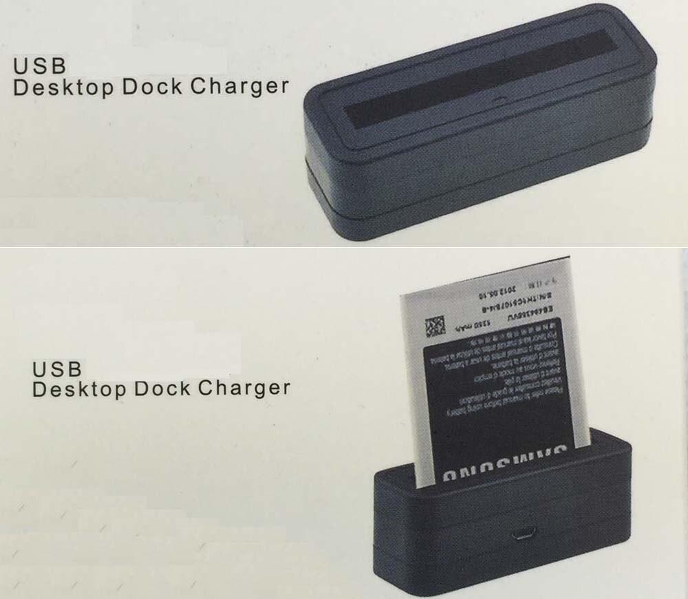 Mini Dock <font><b>Battery</b></font> Charger For <font><b>Samsung</b></font> Note4 <font><b>Note</b></font> 3 Note2 <font><b>Note</b></font> 1 S5 S4 S4 Mini S3 s3mini i9300 i9200 i9600 i9500 i9190 N910F