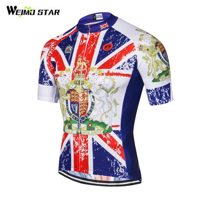 Weimostar Men s Great Britain State Flag Cycling Jerseys Short UK Flag Bike  Clothing Bicycle Wear Ropa Ciclismo Maillot S-3XL 5316a0418