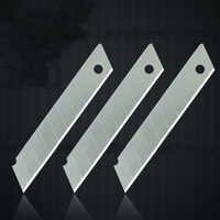10 Pz/lotto Alta Qualità Lama Portatile 0.6 MM Spessore Acciaio Utility Knife FAI DA TE Durevole Art Cutter 100mm x 18mm