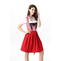 גרמניה באר ילדה חדרניות תלבושות Cosplay תלבושות אוקטוברפסט בוואריה פסטיבל נשים סקסיות תחפושת ליל כל הקדושים A417039