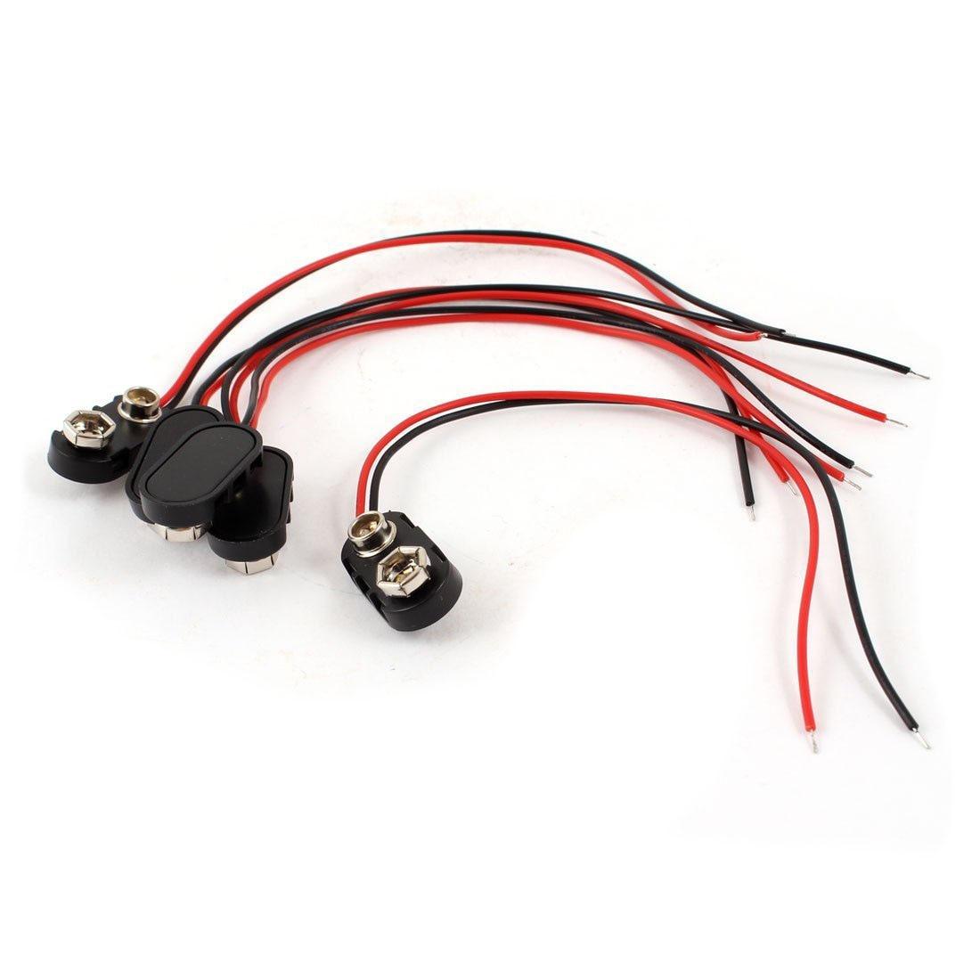ᑎ‰SCLS 5 x черный пластиковый корпус 14, 99 см 2-кабельный ...