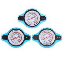 Universal Car Vehicle Radiator Cap Cover Water Temperature Meter Thermostatic Gauge