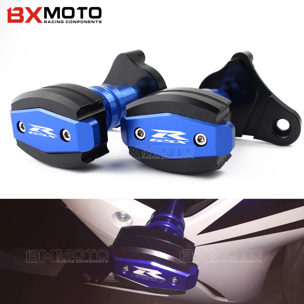 For Suzuki GSX R GSXR 600 750 R K6/K8 GSXR600/750 Motorcycle CNC Accessories Frame Sliders Falling Protection Crash Pad Sides engine guard cover for suzuki gsxr 600 750 gsx r gsxr600 motorcycle cnc aluminum frame slider protector crash falling protection page 6