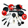 13 unids/set Mini casa del juego del bebé niños cocina juguetes Playhouse cocina Kid asamblea educativa