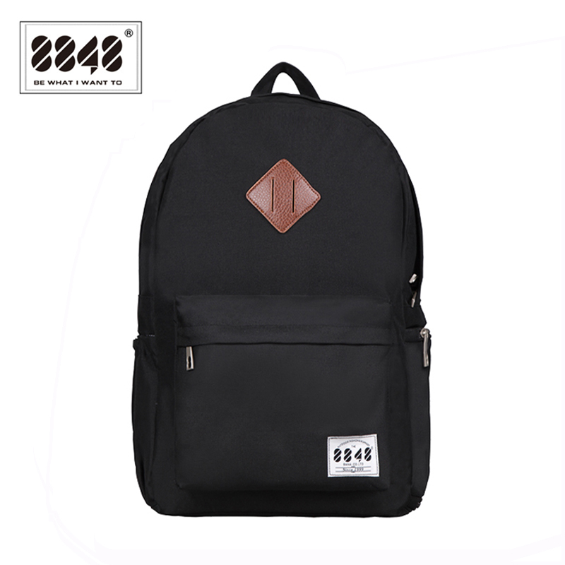 8848 Brand Backpack Backpack Men Backpack Resistent Oxford Vandtæt Materiale Backpacking Trendy Sko Pocket Rygsække D020-3