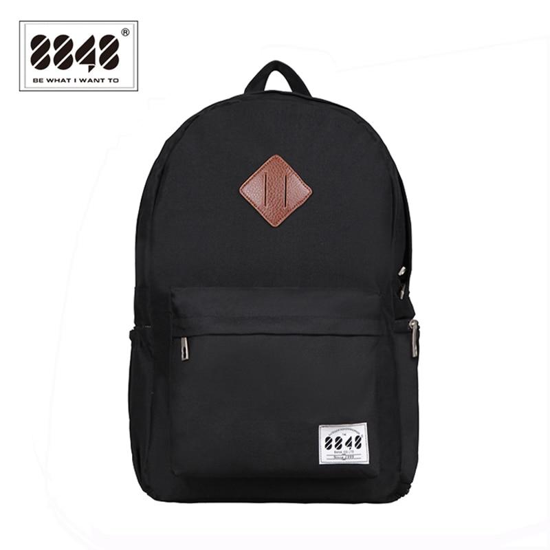 8848 Brand Backpack Men Backpack Travel Resistant Oxford Waterproof Material Backpacking Trendy Shoe Pocket Knapsack D020-3