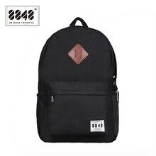 8848 حقيبة ظهر بعلامة تجارية الرجال على ظهره السفر مقاومة أكسفورد مادة مضادة للماء الظهر العصرية الأحذية جيب حقيبة D020 3